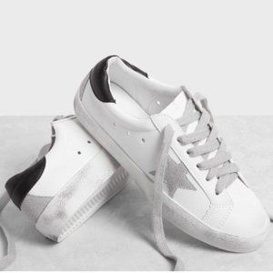Star Patch Lace Up Sneakers (39)